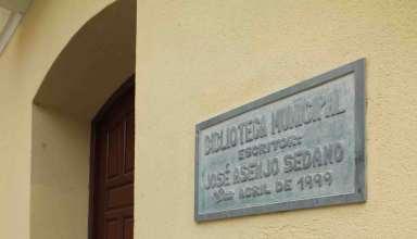 Biblioteca puerta