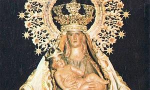Imagen de la Virgen de la Piedad