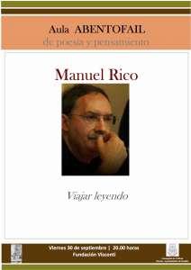 Cartel Manuel Rico
