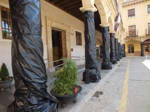 Cascamorras, plásticos para fachadas y edificios