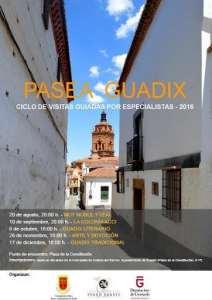 Cartel Pasea Guadix