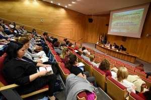 Asistentes a la reunión en la Diputación
