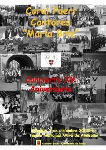 cartel  XX aniversario  maria briz copia